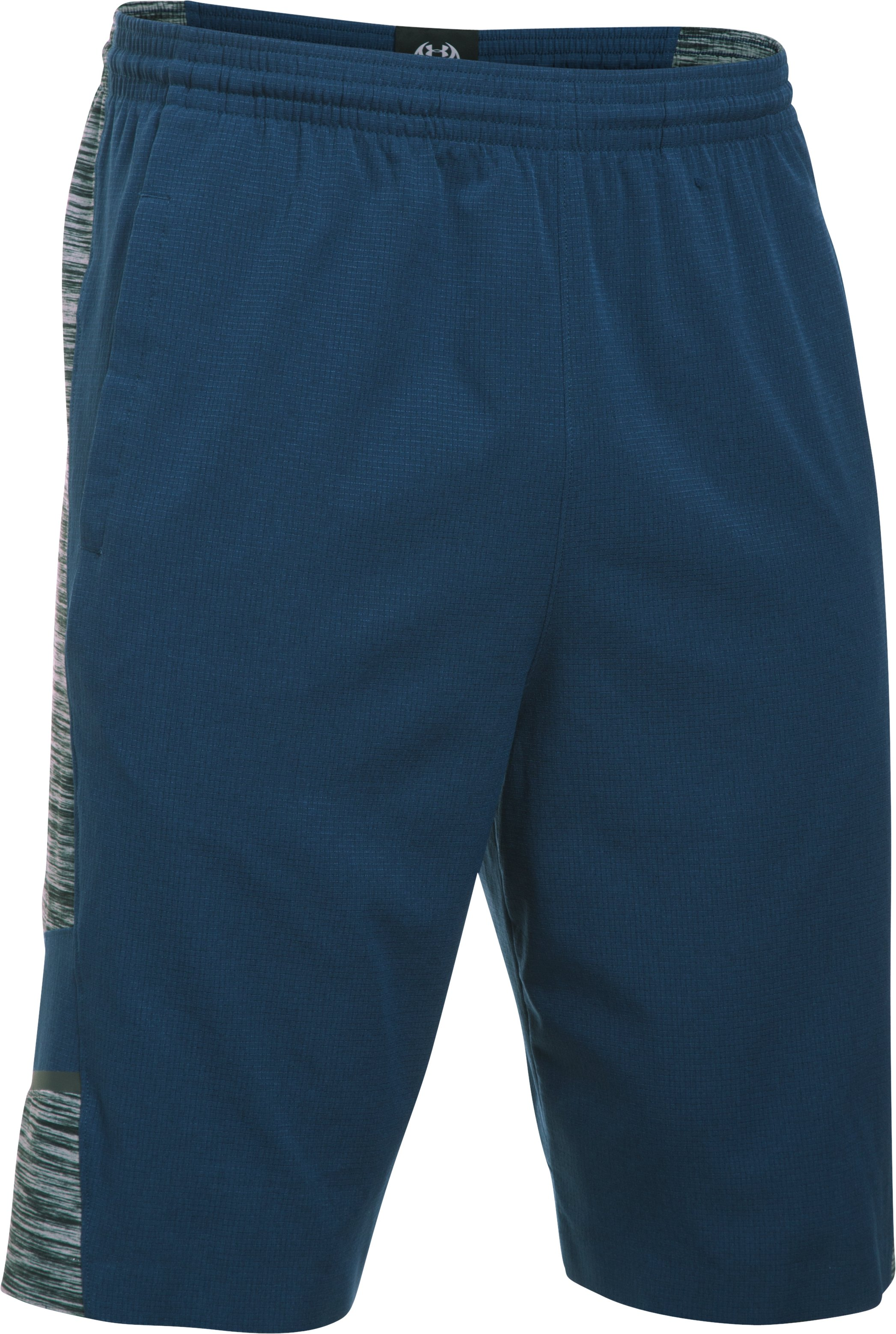 Men's UA CoolSwitch Basketball Shorts, BLACKOUT NAVY, undefined