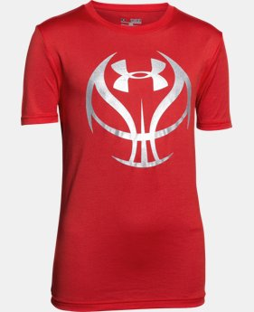 Boys' UA Basketball Icon T-Shirt LIMITED TIME: FREE SHIPPING  $22.99
