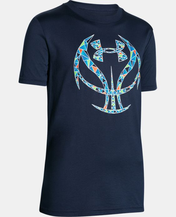 Boys' UA Basketball Logo T-Shirt  1 Color $19.99