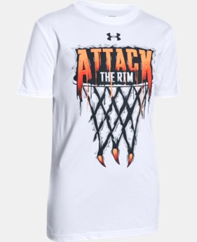 Boys UA Attack The Rim T-Shirt LIMITED TIME: FREE SHIPPING  $19.99
