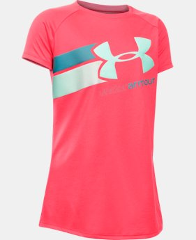 New to Outlet Girls' UA Fast Lane T-Shirt   $11.99 to $14.99