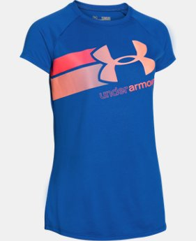 Girls' UA Fast Lane T-Shirt  1 Color $14.99
