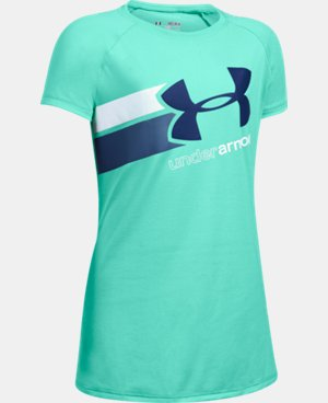 New to Outlet Girls' UA Fast Lane T-Shirt LIMITED TIME: FREE U.S. SHIPPING 8 Colors $14.99