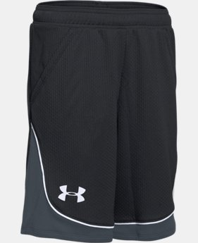 Best Seller Girls' UA Pop A Shot Basketball Shorts   $27.99