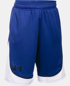 Best Seller Girls' UA Pop A Shot Basketball Short LIMITED TIME: FREE SHIPPING 1 Color $27.99