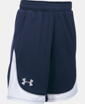 Girls' UA Pop A Shot Basketball Short LIMITED TIME: FREE U.S. SHIPPING 1 Color $27.99