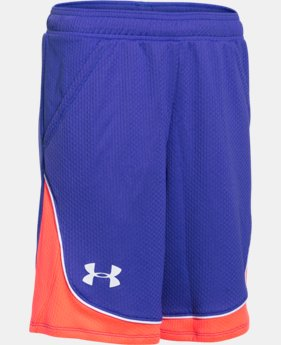 Girls' UA Pop A Shot Basketball Short LIMITED TIME: FREE U.S. SHIPPING 3 Colors $20.99