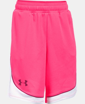 Girls' UA Pop A Shot Basketball Short  1 Color $24.99