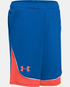 Girls' UA Pop A Shot Basketball Short LIMITED TIME: FREE U.S. SHIPPING 2 Colors $20.99