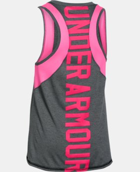 Girls' UA Quick Pass Tank  2 Colors $20.99