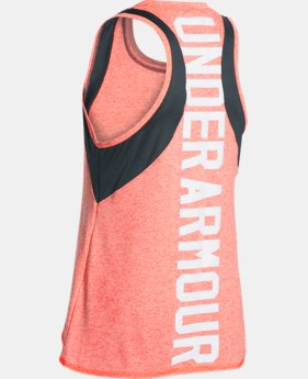 Best Seller Girls' UA Quick Pass Tank LIMITED TIME: FREE SHIPPING 1 Color $27.99