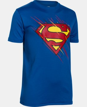 New Arrival Boys' Under Armour® Alter Ego Superman Team T-Shirt LIMITED TIME: FREE SHIPPING 1 Color $29.99