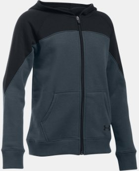 Girls' UA Quick Pass Full Zip Hoodie   $33.99