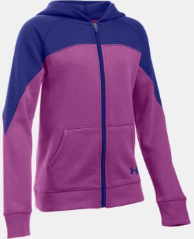 Girls' UA Quick Pass Full Zip Hoodie  1 Color $37.99