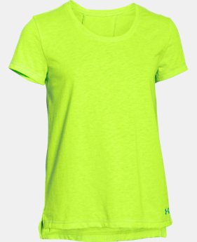 Girls' UA Finale Short Sleeve   $17.99 to $22.99