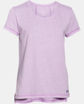New Arrival  Girls' UA Finale Short Sleeve LIMITED TIME: FREE SHIPPING 1 Color $34.99