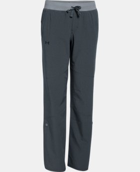 Girls' UA Premiere Woven Pants  2 Colors $33.99