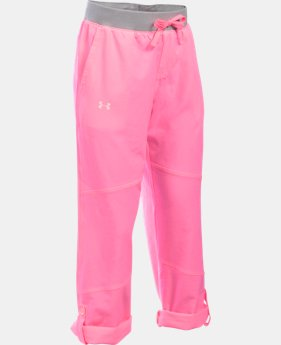 Girls' UA Premiere Woven Pants  1 Color $33.99