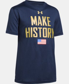 Boys' UA USA Make History T-Shirt