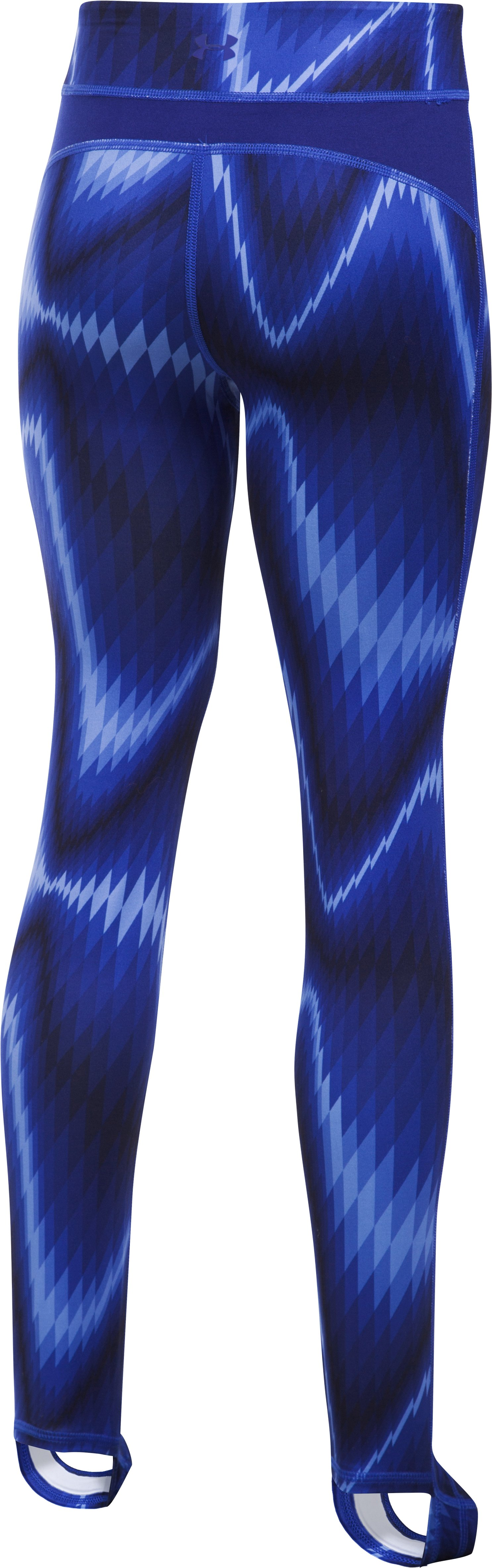 Girls' UA Finale Legging, Caspian, zoomed image