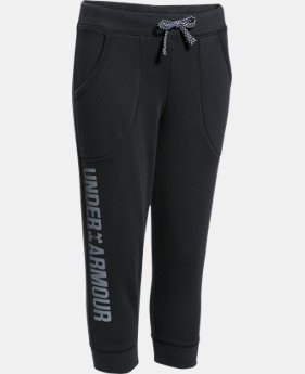 Girls' UA Favorite Fleece Capri LIMITED TIME: FREE SHIPPING 1 Color $25.49 to $33.99