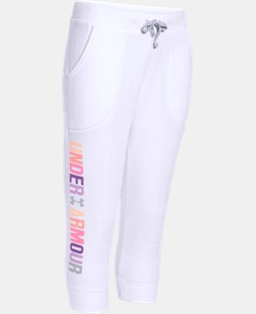 Girls' UA Favorite Fleece Capri  1 Color $33.99