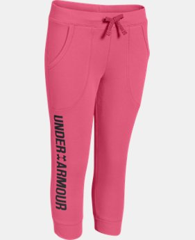 New to Outlet Girls' UA Favorite Fleece Capri   $29.99