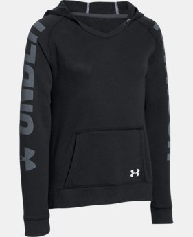 New Arrival Girls' UA Favorite Fleece Hoodie   1 Color $20.24 to $25.49