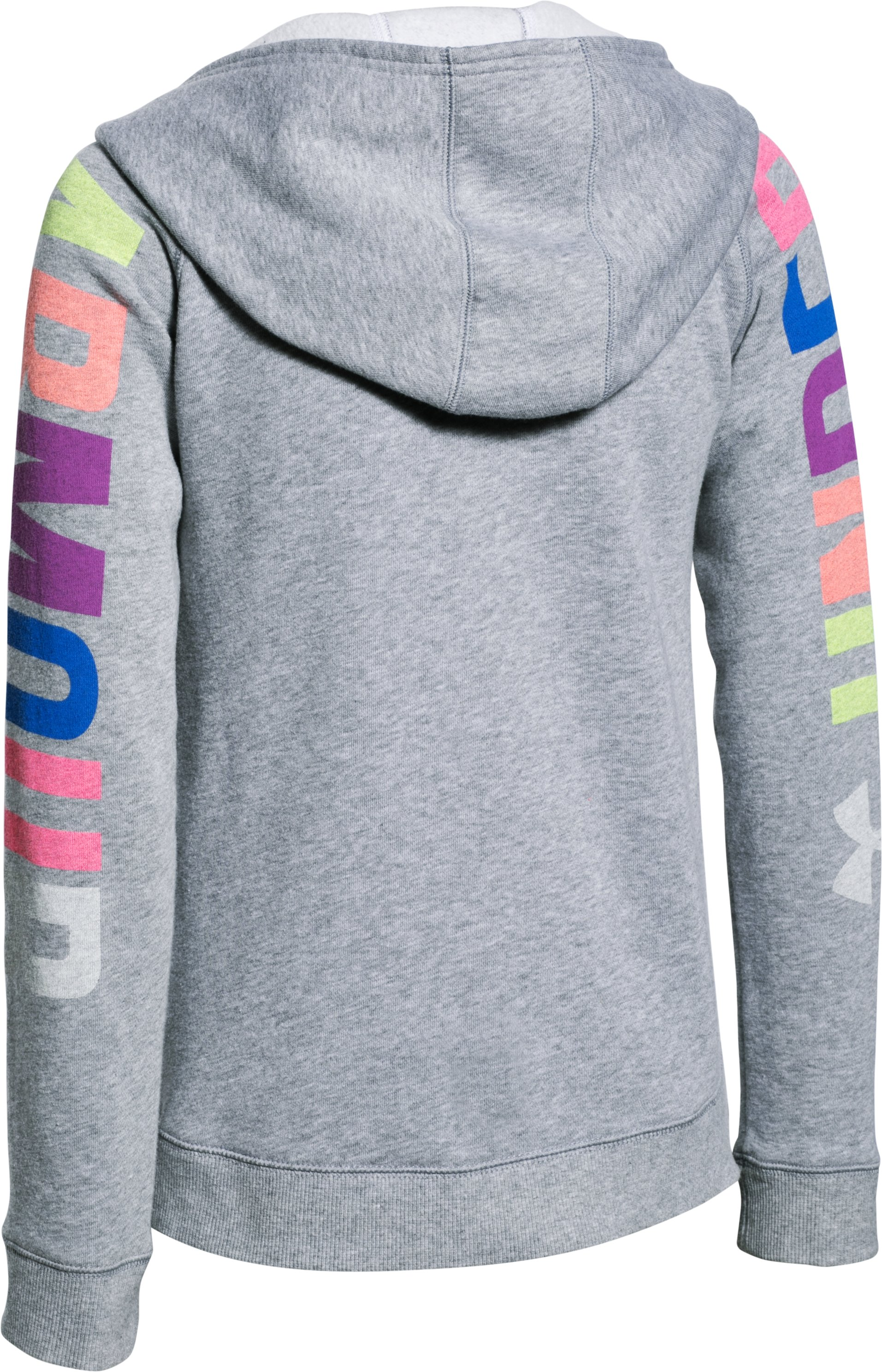 Girls' UA Favorite Fleece Hoodie , True Gray Heather,