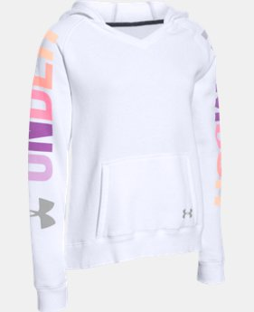 Girls' UA Favorite Fleece Hoodie   1 Color $37.99