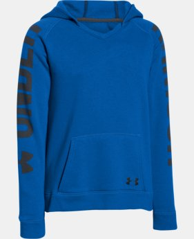 New Arrival Girls' UA Favorite Fleece Hoodie    $26.99 to $33.99