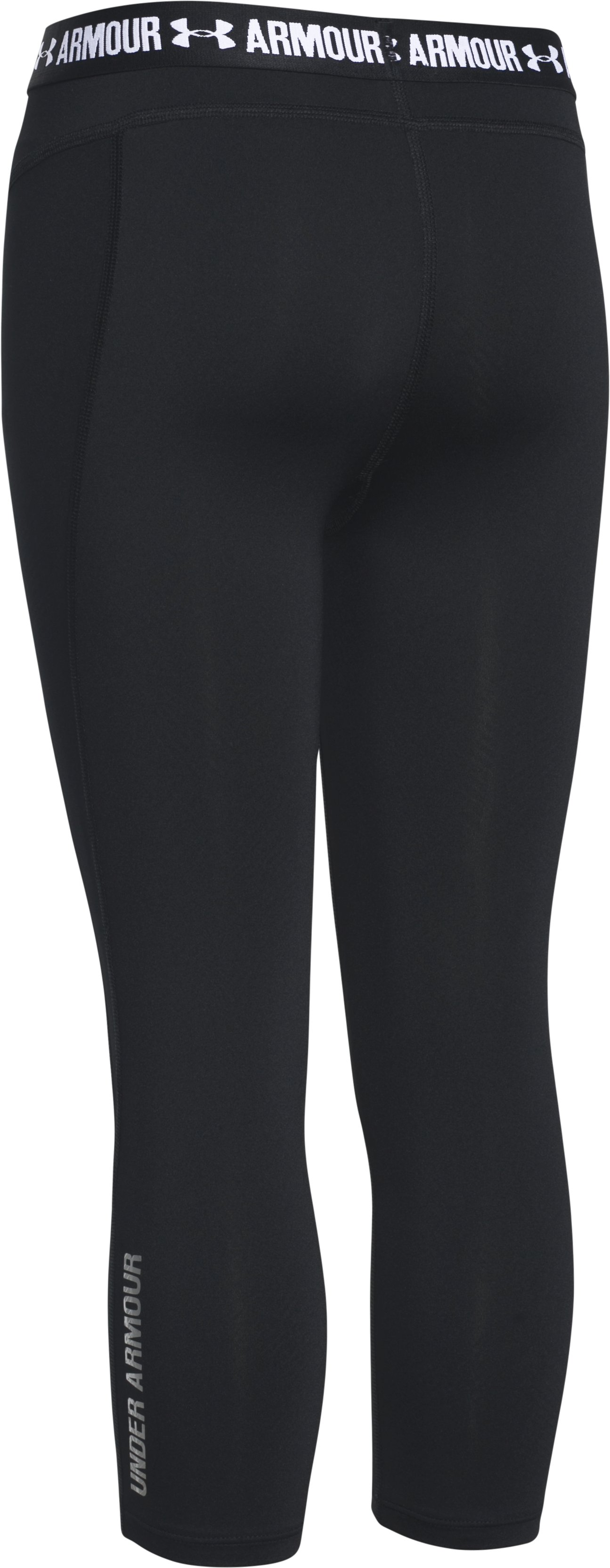 Girls' UA CoolSwitch Capris, Black , undefined