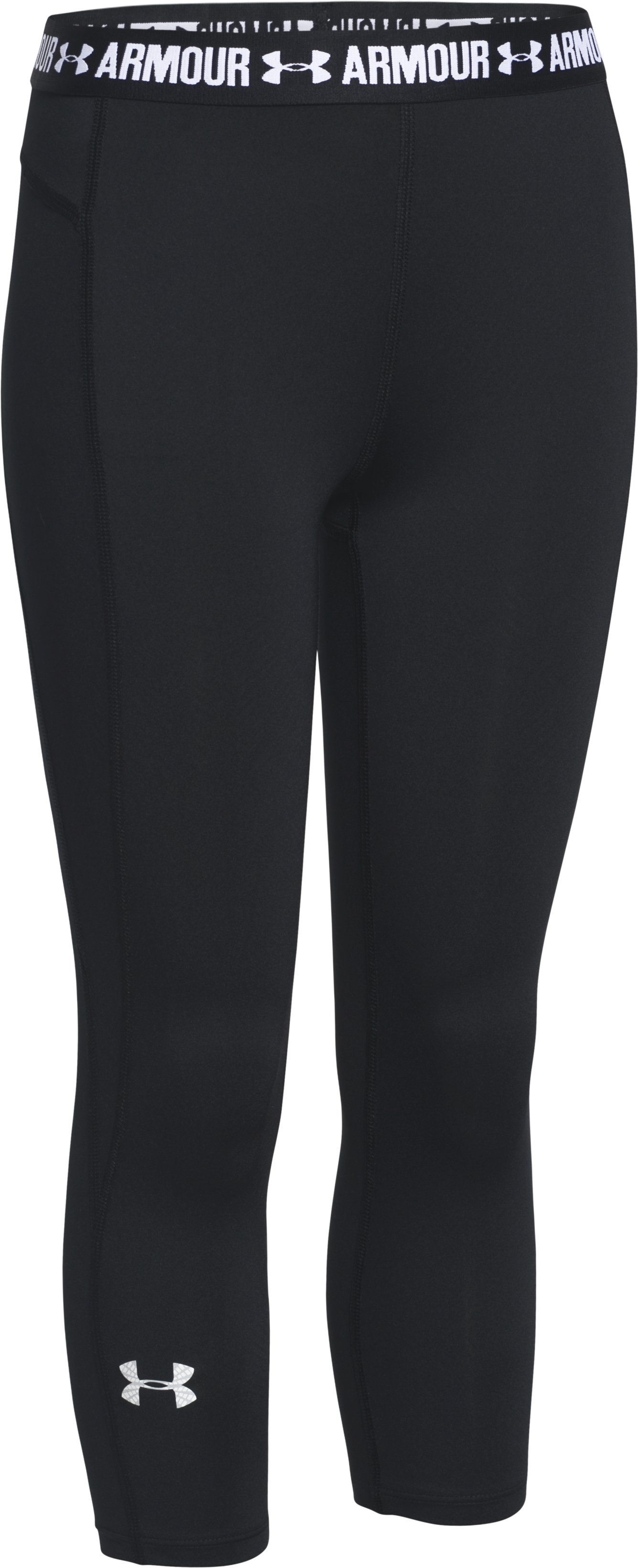 Girls' UA CoolSwitch Capris, Black