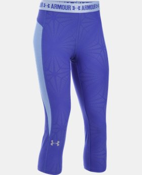 Girls' UA CoolSwitch Capri  1 Color $17.99 to $22.49