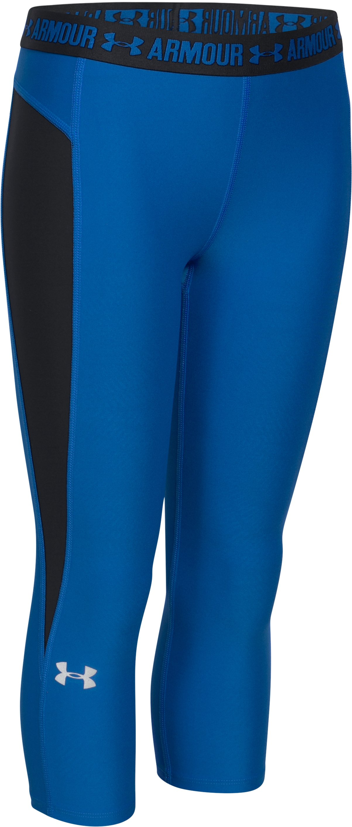Girls' UA CoolSwitch Capris, ULTRA BLUE