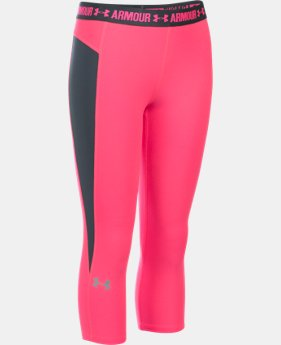 Girls' UA CoolSwitch Capri   $29.99