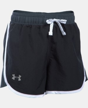 New Arrival  Girls' UA Fast Lane Shorts  1 Color $22.99 to $29.99