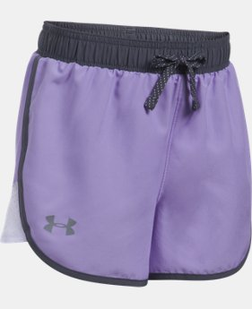 Girls' UA Fast Lane Shorts  2 Colors $13.99 to $18.99