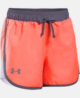 Girls' UA Fast Lane Shorts   $10.49 to $18.99