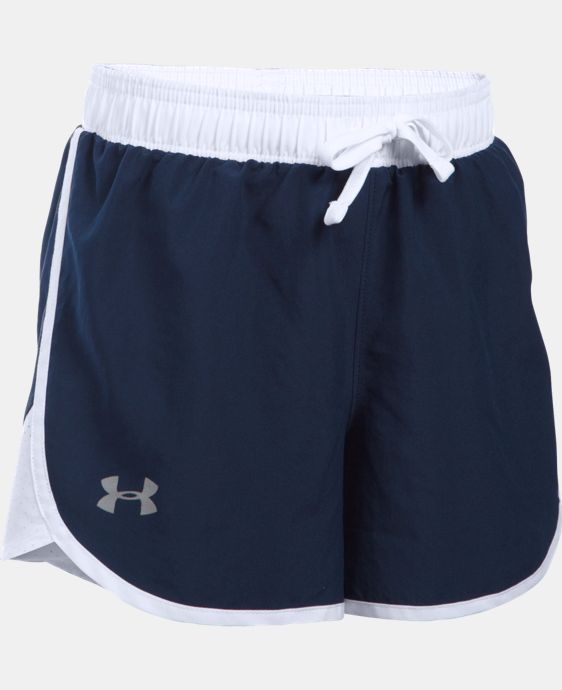 New Arrival Girls' UA Fast Lane Shorts LIMITED TIME: FREE U.S. SHIPPING 1 Color $24.99