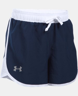 Girls' UA Fast Lane Shorts  1 Color $24.99