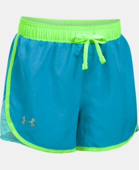 Girls' UA Fast Lane Shorts  1 Color $17.49 to $18.99