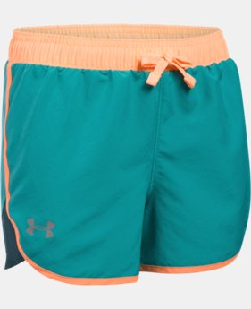 Girls' UA Fast Lane Shorts  1 Color $11.24 to $14.24
