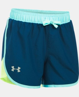 New Arrival Girls' UA Fast Lane Shorts LIMITED TIME: FREE U.S. SHIPPING 4 Colors $24.99
