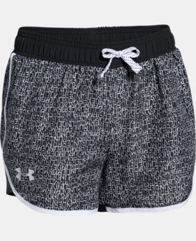 Girls' UA Fast Lane Novelty Shorts LIMITED TIME: FREE U.S. SHIPPING 4 Colors $12.74 to $15.74