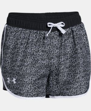 Girls' UA Fast Lane Novelty Shorts  2 Colors $12.74 to $15.74