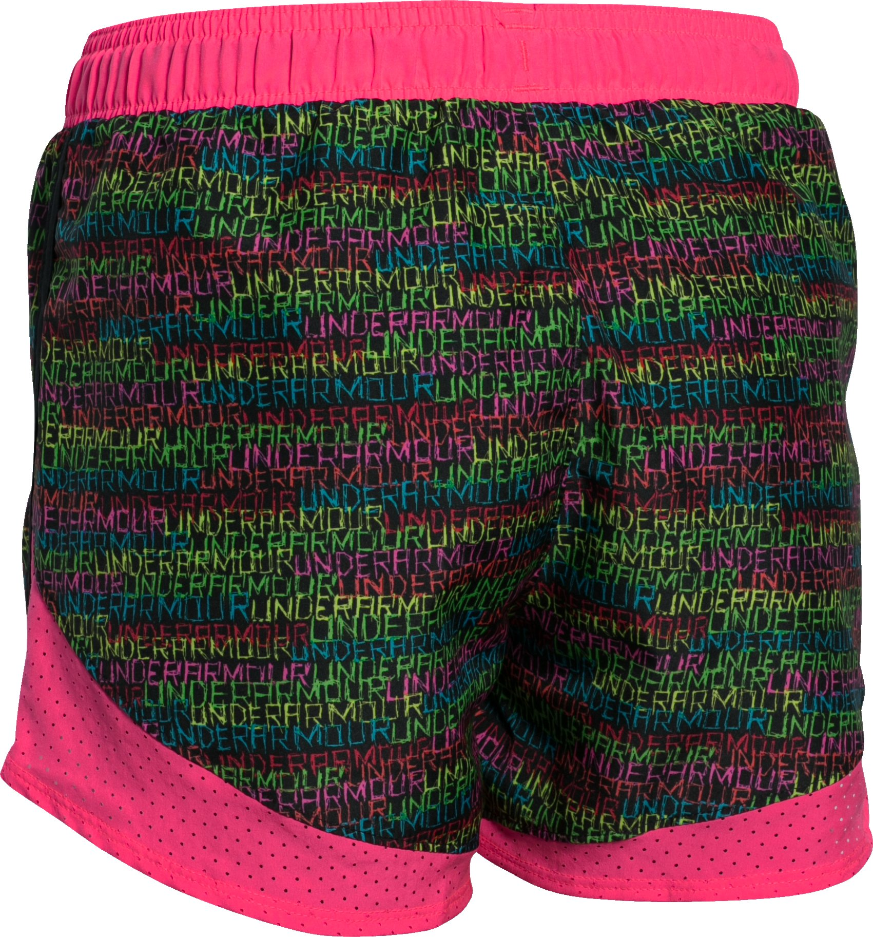 Girls' UA Fast Lane Novelty Shorts, Black