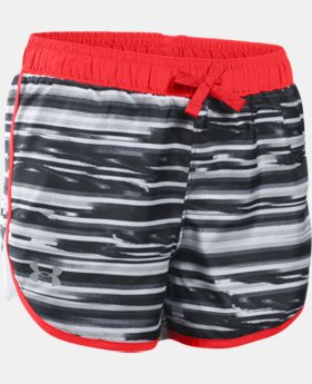 Girls' UA Fast Lane Novelty Shorts LIMITED TIME: FREE U.S. SHIPPING 3 Colors $12.74 to $15.74