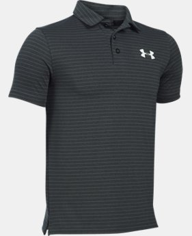 Best Seller Boys' UA Composite Stripe Polo LIMITED TIME: FREE SHIPPING 3 Colors $39.99