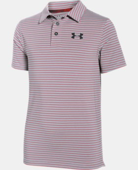 Boys' UA Composite Stripe Polo  1 Color $22.49